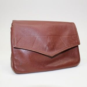 Vintage Leather Toiletries Bag